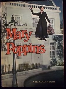 Mary Poppins Big Golden Book 1964