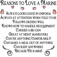 To Love A Marine:)