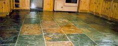 Rustic Multicolour Slate Tiles, Slate Flooring, Wall Tiles, Tile Floor, Chinese, Rustic, Color, Slate Shingles, Room Tiles