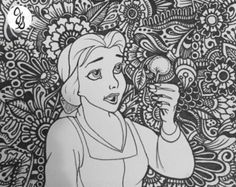 Coloring Pages Barbie And The Secret Door : Baby disney princess characters coloring pages www.xcdj.org