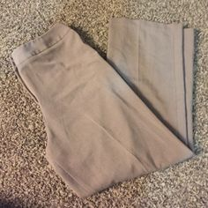 Brown pants Good condition. Shows signs of wear. No pockets. Inseam is 31 inches and length is 44 inches! Worthington stretch  Pants