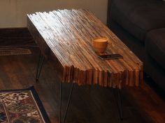 I made a pallet wood coffee table like one you've never seen before [2000x1500] [OC] [OS]