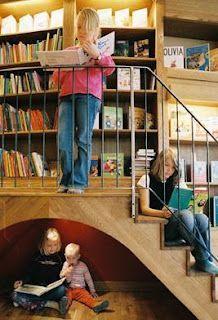 Rum för barn. Childrens library in Stockholm