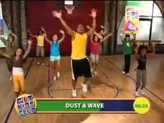 Shaun T Fit Kids Club Dance Workout Routines--> another exercise video to incorporate (activity 3)