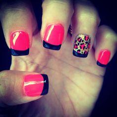30th birthday nails!