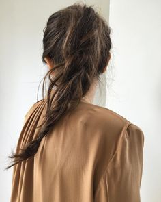 Apr 2020 - ideas for your hair. See more ideas about Hair, Long hair styles and Hair inspiration. Messy Hairstyles, Pretty Hairstyles, Updo Hairstyle, Wedding Hairstyle, Braided Ponytail, Messy Braids, Loose Braids, Crown Braids, Good Hair Day
