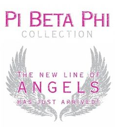 Pi Beta Phi - The new line of angels has just arrived! #piphi #pibetaphi