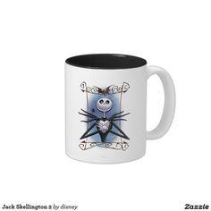Jack Skellington Taza De Dos Tonos #taza #mug