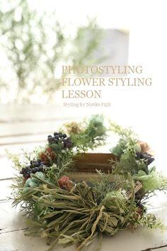 フォトスタイリング、暮らしに映える花スタイリング講座3回目、最終回ハウススタジオ撮影 その3|シルクフラワー(造花)のウェディングブーケのデザインと選び方