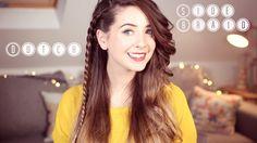Zoë Sugg Dutch braid ❤️ Zoella ❤️