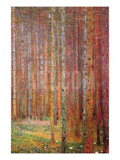 Tannenwald Art Print by Gustav Klimt at Art.com