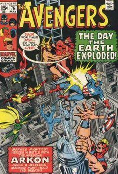 Avengers 76 - John Buscema