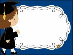 Graduation Album, Graduation Images, Graduation Crafts, Preschool Graduation, Graduation Invitations, School Days Images, School Border, Owl Theme Classroom, School Frame