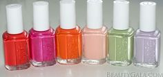 The Essie Spring 2012 Collection is beautiful!