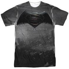 NEW /& OFFICIAL Batman v Superman Poster Zip Hoodie