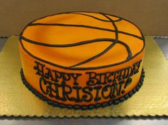 Perfect for a Basketball Fanatic, all buttercream Cake by Stephanie Dillon, LS1 Hy-Vee