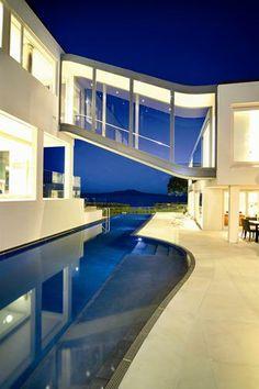 American top model house