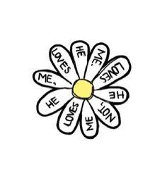 Daisy Sticker Tumblr | sass overlays | Tumblr