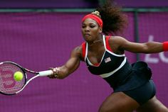 Serena Williams makes history in 2012 Summer Olympics women's singles gold medal match Serena Williams, Women In History, Black History, Costumes For Black Women, 2012 Summer Olympics, National Anthem, African American History, Tennis Players