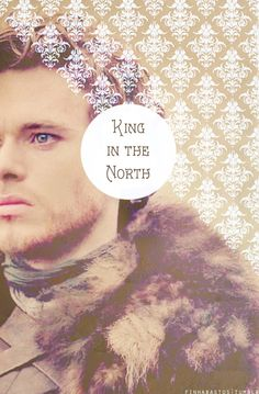Robb Stark ~ King in the North ~ Game of Thrones Fan Art