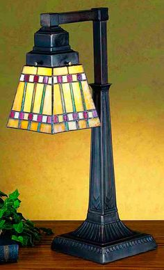"""Prairie Corn 20"""" H Table Lamp with Square Shade"""
