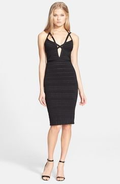 Herve Leger 'Lauren' Body-Con Bandage Dress available at #Nordstrom