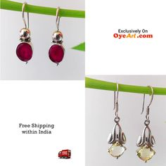 #Gorgeous #vintage #gems #earring. Perfect for #Monsoons. Get it here ==> http://bit.ly/1LoNSSw