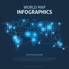 World map pins lines data design pinterest infographic map illumination carte du monde infographie world mapsdesign logosgoogle search freeinfographicsearchingle gumiabroncs Gallery