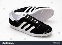 sale retailer 2e0ce 89c36 BANGKOK, THAILAND - SEPTEMBER 9, 2018     Original Adidas Gazelle running  shoes,