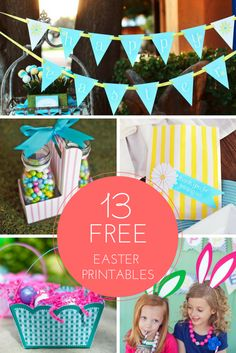 13 Free Easter Printables >> http://www.hgtv.com/design/make-and-celebrate/entertaining/free-easter-printables-pictures?soc=pinterest