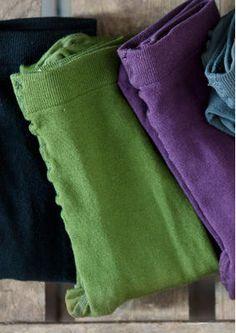 Strumpfhose aus Baumwolle/Polyamid gudrun sjöden waldgrün 2 Stück für je 15 EUR Kauf-2Preis in L