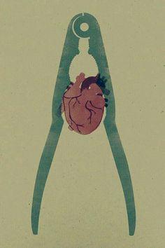Corazón atenazado