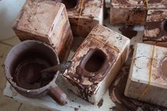Making coffee chocolate or making Yixing Zisha teapots? #yixing #zisha #purpleclay #teapot #tealovers #zhentea #chinesetea #gongfutea #teaaddict #teaware #teacup