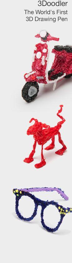 3Doodler Drawing Pen at Brookstone—Buy Now!