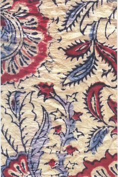 Love the textiles of India. Indian Textiles, Indian Fabric, Print Wallpaper, Textured Wallpaper, Textile Design, Textile Art, Kalamkari Designs, Indian Block Print, Hand Printed Fabric