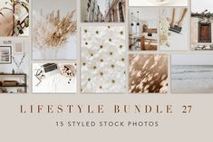 Lifestyle Bundle 27 by Floral Deco on Blog Images, Digital Image, Design Projects, Gallery Wall, Stock Photos, Creative, Instagram Posts, Blogger Lifestyle, Social Media