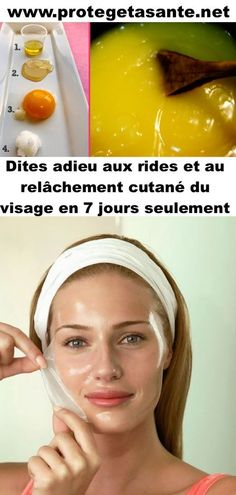 Dites adieu aux rides et au relâchement cutané du visage en 7 jours seulement Les Rides, Aloe Vera, Body Care, Hair Beauty, Makeup, Backgrounds, Medical, Sport, Lifestyle