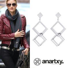 Siempre guapa  #JoyasAcero #SteelJewel #JóiasEmAço #estilo #style #anartxy #woman #joyas #jewelry #trend #tendencia #acero #steel #fashion #moda #pendientes #earrings
