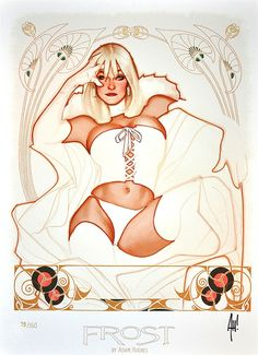 Emma Frost - The White Queen by Adam Hughes