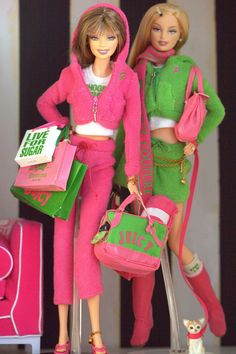 Juicy Couture Barbies