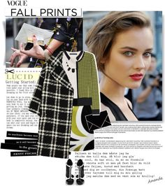 """""""Fall Prints You Should Know Now"""" by elsadimiele ❤ liked on Polyvore"""