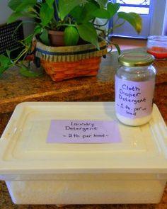 Healthy Penny Pincher Idea #6: Homemade Cloth Diaper Detergent   Fresh Idea Mama