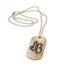 Cute jonas brothers dog tag necklace 2013 merch