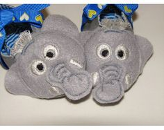 free elephant ITH booties