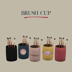 Brush Cups at Leo Sims • Sims 4 Updates