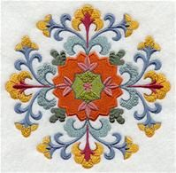 Machine Embroidery Designs at Embroidery Library! - A Classic Suzani Design Pack - Lg