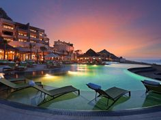 This is Capella Pedregal in Cabo San Lucas, one of the 10 best hotels in Mexico.  AAA 5