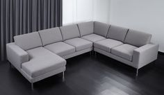 8 Modular optionsAvailable Soft and Dark Grey FabricW258/348 x D151/258 x H85 cmContemporary style 50procent OFF, SAVE £1680