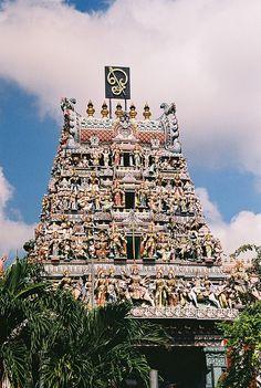 Hindu temple, Malaysia, via Flickr.