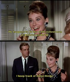 ideas breakfast at tiffanys quotes funny audrey hepburn for 2019 Audrey Hepburn, Katharine Hepburn, Dirty Dancing, Bette Davis, Classic Hollywood, Old Hollywood, Film Quotes, Funny Quotes, Grease